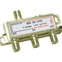 C2G 3-Way High-Frequency Splitter Argento divisore di rete