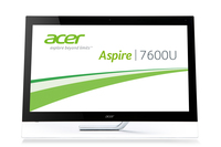 "Acer Aspire 7600U 2.4GHz i7-3630QM 27"" 1920 x 1080Pixel Touch screen Nero PC All-in-one"