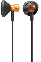 Sony Lifestyle Fontopia Headphones Orange Arancione Intraurale cuffia