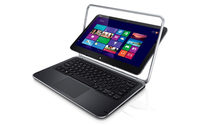 "DELL XPS 12 1.9GHz i7-3517U 12.5"" 1920 x 1080Pixel Touch screen 4G Nero, Grigio Computer portatile"