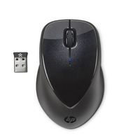 HP X4000 RF Wireless Laser Nero mouse