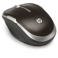 HP Wi-Fi Mobile Mouse Wi-Fi Laser 1600DPI Ambidestro Bronzo mouse