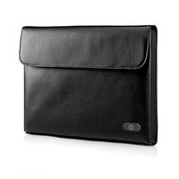 "HP 14-inch Leather Sleeve 14"" Custodia a tasca Nero"