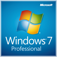 HP Windows 7 Professional, x64, w/Office Ready 2007, 1u, CTO, ENG