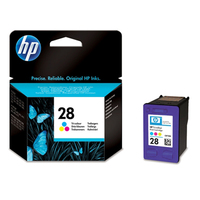 HP 28 Tri-color Original Ink Cartridge cartuccia d