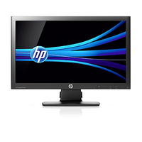 "HP Compaq LE2002x 20"" Nero monitor piatto per PC"