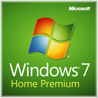 HP Windows 7 Home Premium, x64, w/Office Ready 2007, 1u, CTO, ENG