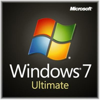 HP Windows 7 Ultimate, x64, 1u, CTO, ENG