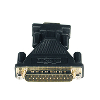 Tripp Lite AT Serial Adapter DB9F - DB25M DB9 DB25 Nero cavo di interfaccia e adattatore