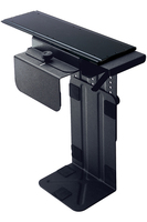 Humanscale CPU300 Desk-mounted CPU holder Nero supporto per CPU