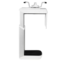 Humanscale CPU200 Desk-mounted CPU holder Bianco supporto per CPU