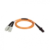Tripp Lite Multimode Fiber Optics 6-ft. (2-m) Duplex MMF 62.5/125 Patch Cable, MTRJ/SC 2m Arancione cavo a fibre ottiche