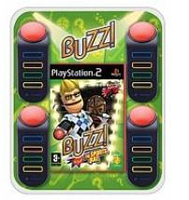 Sony Buzz! The Sports Quiz - Bundle, PS2 PlayStation 2 Inglese videogioco