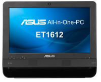 "ASUS ET ET1612IUTS-B011B 1.1GHz 847 15.6"" 1366 x 768Pixel Touch screen Nero PC All-in-one"