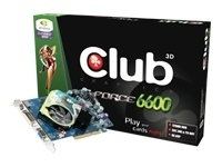 CLUB3D GEFORCE 6600 256MB DDR GDDR