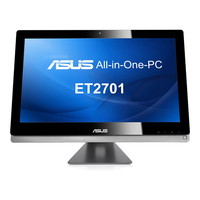 "ASUS ET2701INTI-B025K 3.1GHz i7-3770S 27"" 1920 x 1080Pixel Touch screen Nero, Argento All-in-One PC"