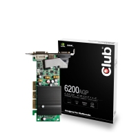 CLUB3D 6200 AGP GeForce 6200 GDDR2
