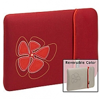 "Case Logic 13"" Reversible MacBook/MacBook Air Sleeve 13"" Custodia a tasca Rosso"