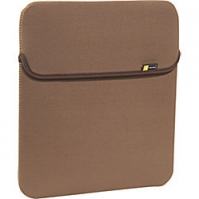 "Case Logic 14.1"" Reversible Laptop Sleeve 14.1"" Custodia a tasca Marrone"