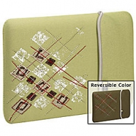 "Case Logic 13"" Reversible MacBook/MacBook Air Sleeve 13"" Custodia a tasca Verde"