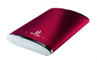 Iomega eGo Ruby Red Portable Hard Drive 160GB Rosso disco rigido esterno