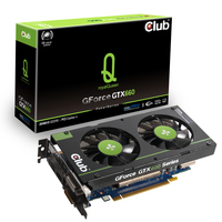 CLUB3D CGNX-X666F GeForce GTX 660 2GB GDDR5 scheda video