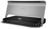 DELL 452-11630 Nero, Grigio replicatore di porte e docking station per notebook