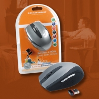 Conceptronic Wireless 2.4GHz Travel Laser Mouse RF Wireless Laser 1600DPI mouse