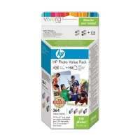 HP 364 Series Photo Value Pack-150 sht/10 x 15 cm cartuccia d