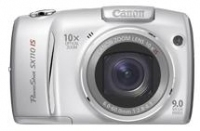 "Canon PowerShot SX110 IS 9MP 1/2.3"" CCD Argento"