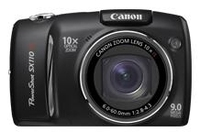 "Canon PowerShot SX110 IS 9MP 1/2.3"" CCD Nero"