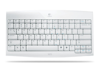 Logitech Cordless Keyboard RF Wireless Bianco tastiera