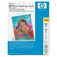 HP Glossy Half-fold Photo Greeting Cards 220 g/m²-A4/210 x 297 mm/10 cards