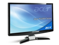 "Acer P224WAbmid 22"" Nero monitor piatto per PC"