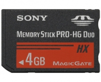 Sony Memory Stick PRO-HG Duo 4GB 4GB MS memoria flash