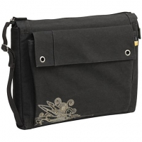 "Case Logic 15.4"" Canvas Laptop Sleeve 15.4"" Custodia a tasca Nero"