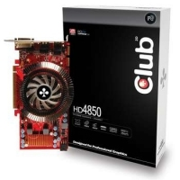 CLUB3D HD4850 512MB GDDR3 GDDR3