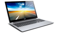 "Acer Aspire 571PG-33224G75Mass 1.9GHz i3-3227U 15.6"" 1366 x 768Pixel Touch screen Nero, Argento Computer portatile"