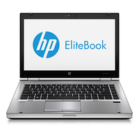 "HP EliteBook 8470p 2.8GHz i5-3360M 14"" 1366 x 768Pixel Nero, Argento"
