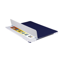V7 Custodia-supporto folio ultrasottile per iPad, blu scuro