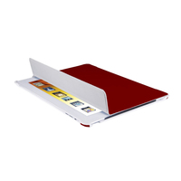 V7 Custodia-supporto folio ultrasottile per iPad, rosse