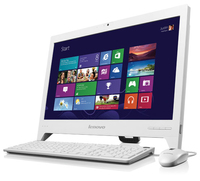 "Lenovo C240 1.1GHz 847 18.5"" Bianco PC All-in-one"