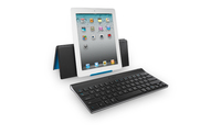 Logitech Tablet Keyboard for iPad Bluetooth QWERTY Inglese Nero tastiera per dispositivo mobile