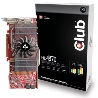 CLUB3D HD 4870 1024MB DDR5 1GB GDDR5