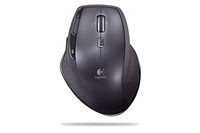 Logitech MX1100R Rechargeable Cordless Laser Mouse for Business USB Laser 1600DPI Nero mouse