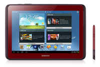 Samsung Galaxy Note 10.1 16GB 3G Rosso tablet