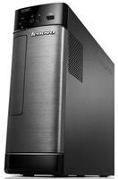 Lenovo Essential H505s 2GHz E2-1800 SFF Nero, Grigio PC