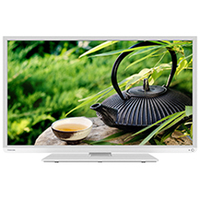 "Toshiba 22L1334G 22"" Full HD Bianco LED TV"