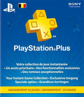 Sony PlayStation Plus Card 90 Day