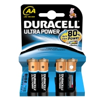 BATTERIA STILO ALCALINA DURACELL ULTRA POWER MX1500 LR6 4PZ